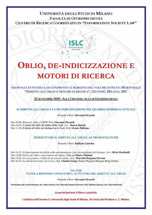 NUOVA Locandina Silvia Oblio e motori di ricerca 25 settembre.jpg