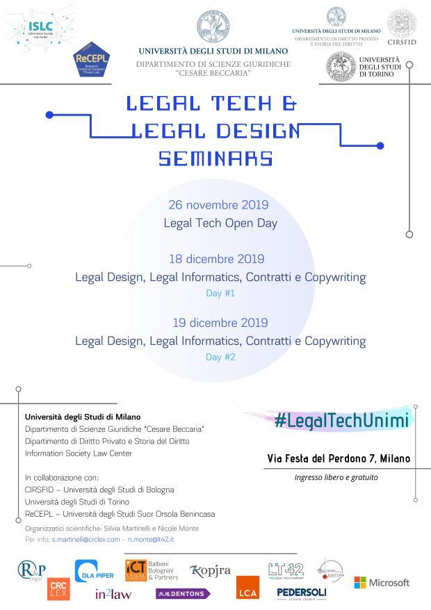 1. Legal Tech & Legal Design Seminars